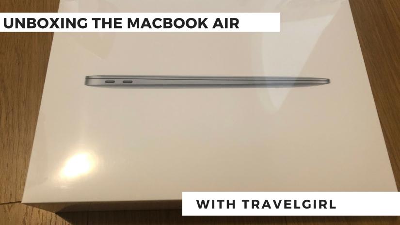 unboxing macbook